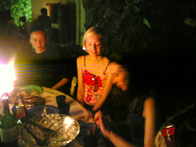 Aglaia, Anita and Jessie