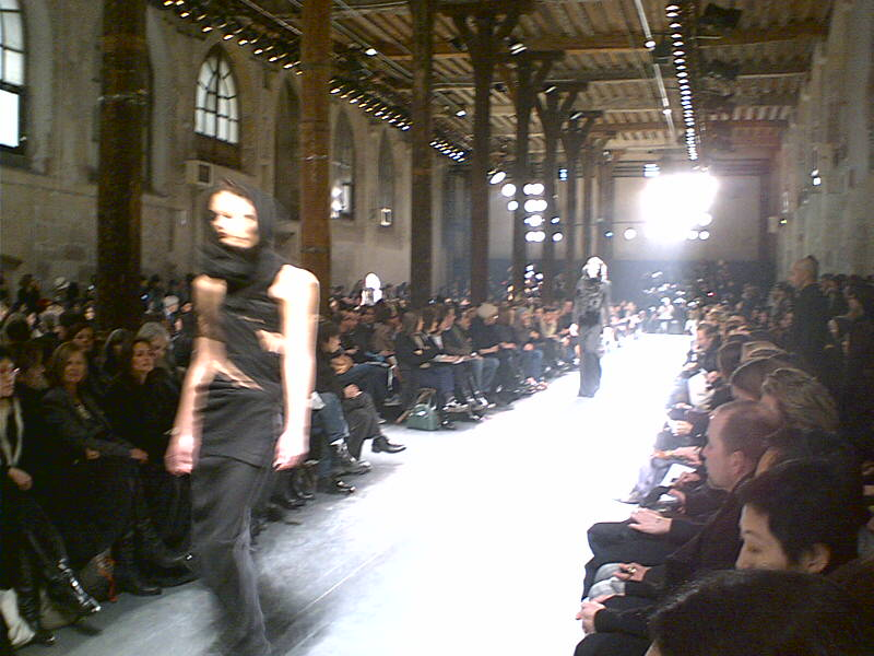 Runway at Ann Demeulemeester