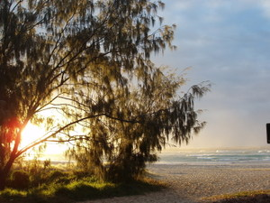 Beautifull light on Stradbroke Island