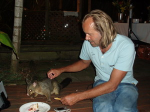 Me and mi mate da possum