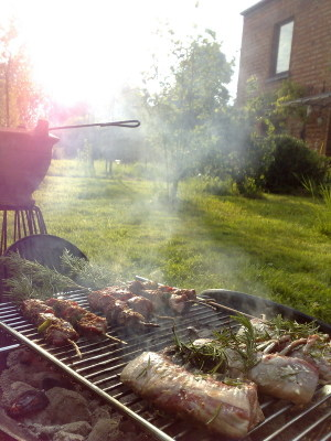 What's a BBQ without meat