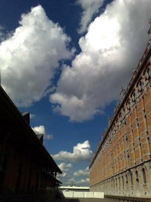 Blue Sky in Belgium