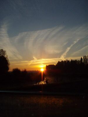 Belgium sunrise