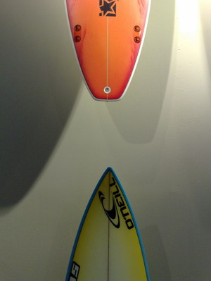 Surfboards...! Here ? In Antwerp ?
