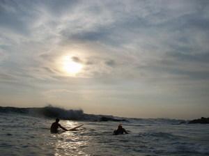 Surf was good again