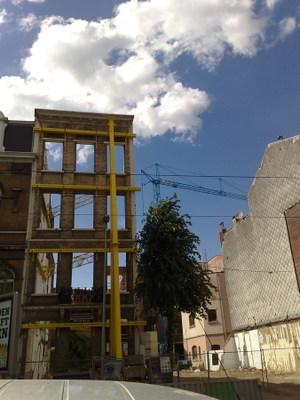 Antwerp facade