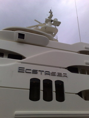 Most Obnoxious name for a luxury boat