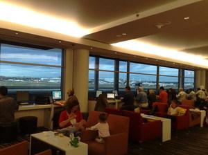Sydney Qantas Lounge