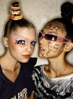 Bernhard Willhelm Backstage Beauty