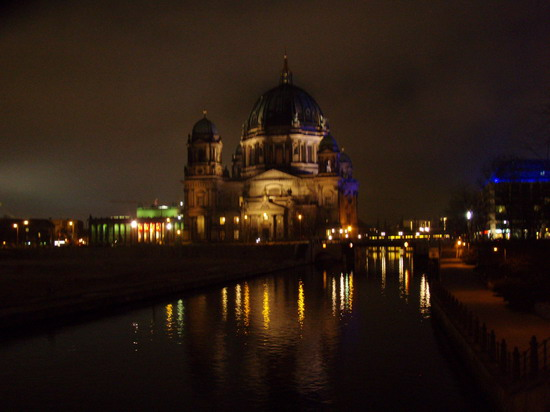 Berlin at night