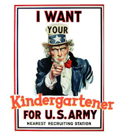 Lowering the Bar: Kindergarten Recruitment