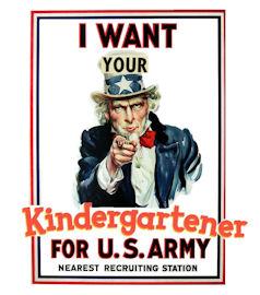 Lowering the Bar: Kindergarten Recruitment
