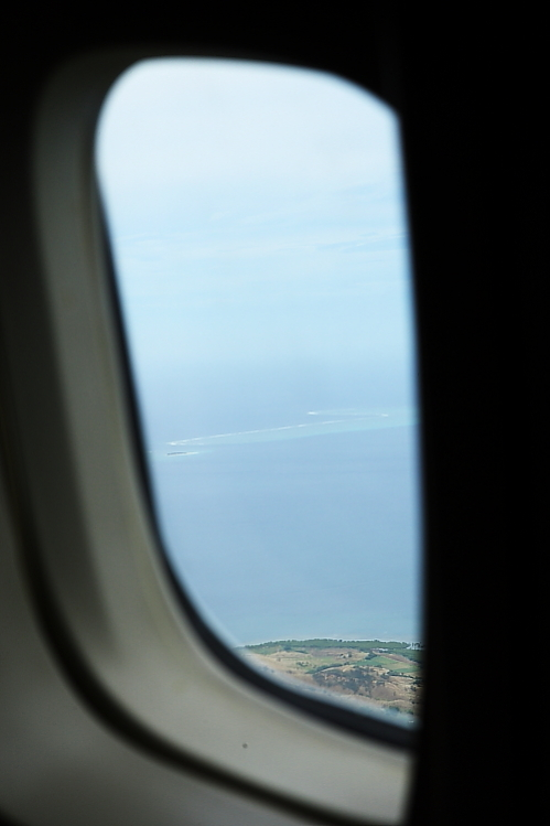 Namotu Lefts and Tavarua seen from plane during take off . . .sick