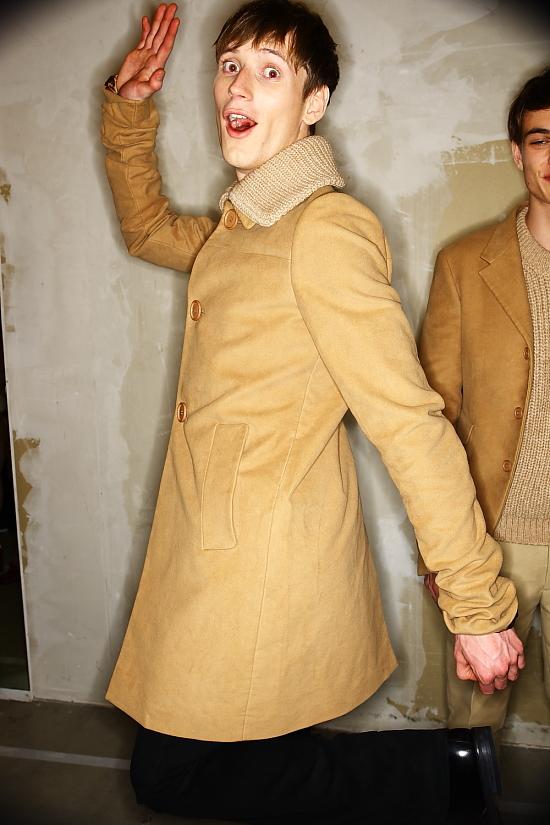 PRADA AW10-11 Menswear show