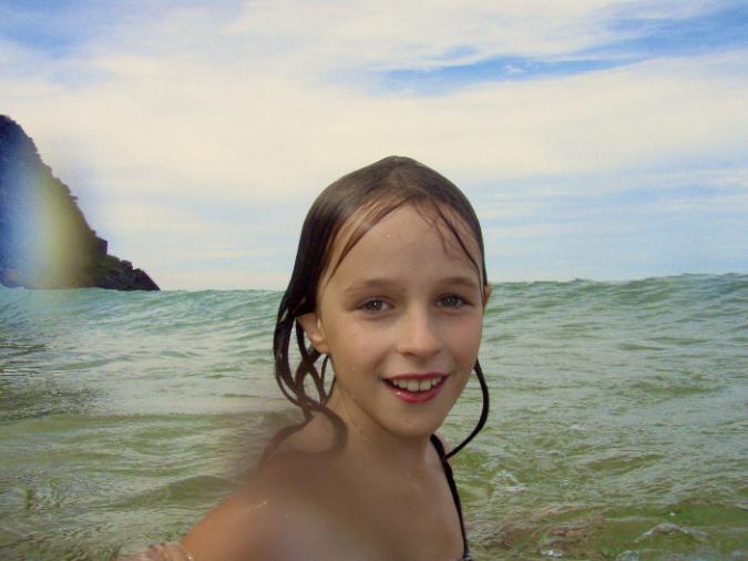 hot girl sunbathing naked