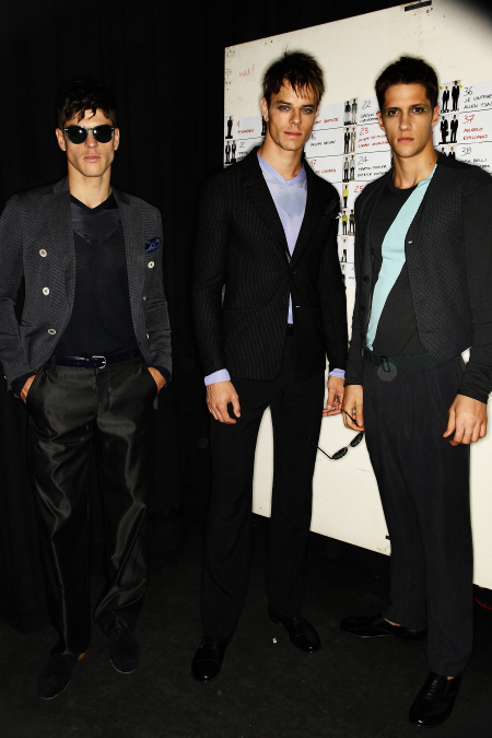Giorgio Armani Men SS 2011 Collection