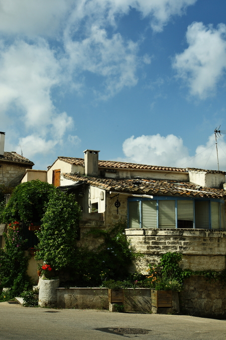 On our way to Trieste, Italy, stop over in Saint-Geni�s-des-Mourgues