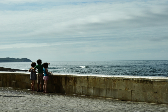 Wave Splash at Comillas
