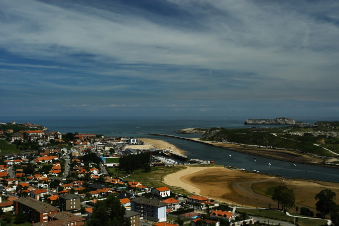 Suances, Spain in the Cantabria region
