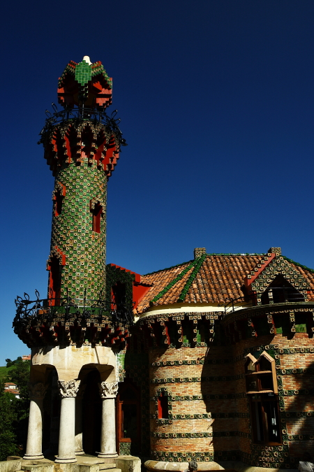 Gaudi's El Capricho at Comillas Spain