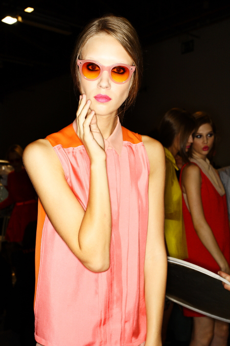 Cacharel SS2011 Collection Paris Backstage