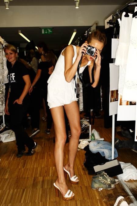 Dolce & Gabbana Backstage Photographers
