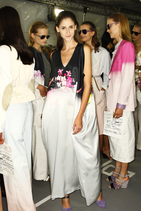 Dries Van Noten SS2011 Collection Backstage Paris