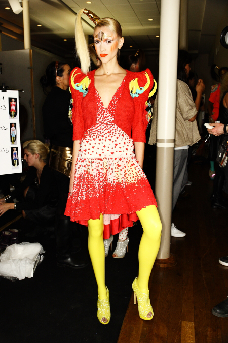Manish Arora SS2011 Collection Paris Backstage