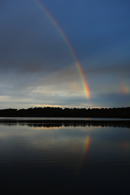 Pretty Rainbow @ Narrabeen Lakes