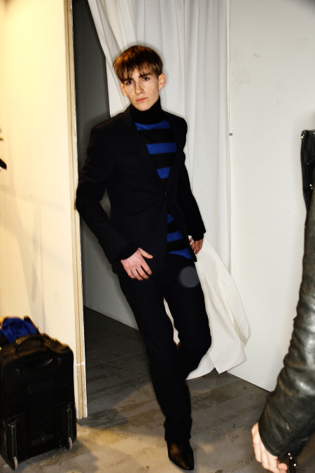 Costume National Homme Collection AW2011 Milan Backstage