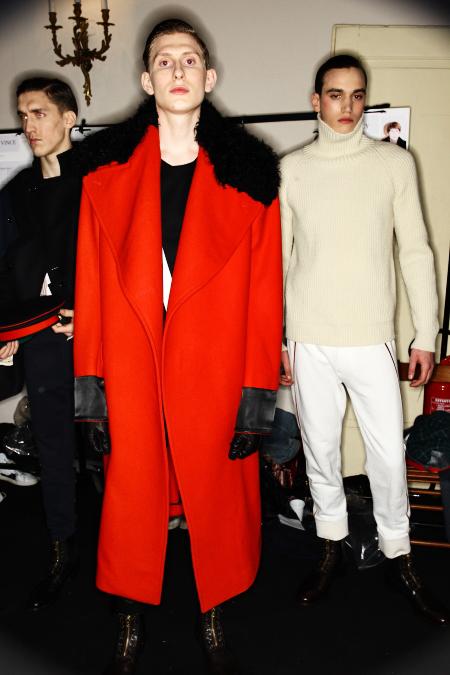 Alexander McQueen AW2011 Men's Collection Milan Backstage