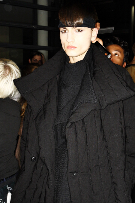 Damir Doma AW2011 Collection Paris Men's Backstage