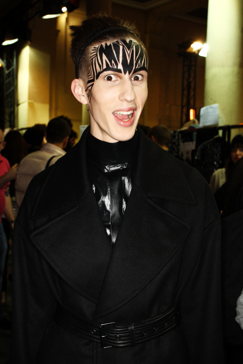 Qasimi AW 2011 Men's Collection Paris Backstage
