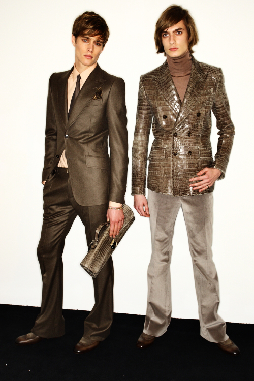Gucci AW2011 Men's Collection Milan Backstage