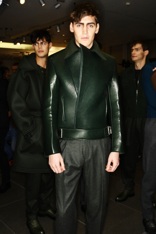 Z Zegna Men's AW2011 Collection Backstage Milan