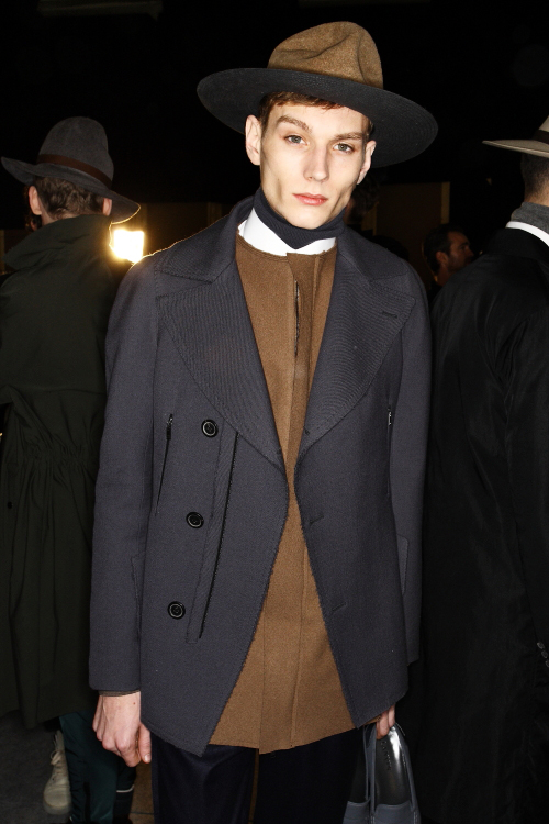 Lanvin AW2011 Men's Collection Backstage Paris