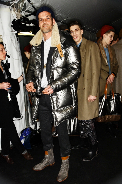 Paul Smith AW2011 Paris Men's Collection Backstage