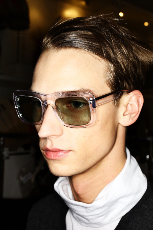 ACNE AW 2011 Collection Paris Backstage