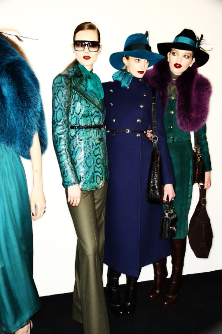 Gucci FW 2011 Collection Show Milan Backstage