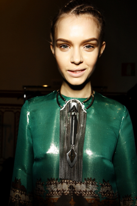 Etro FW 2011 Collection Show Milan Backstage