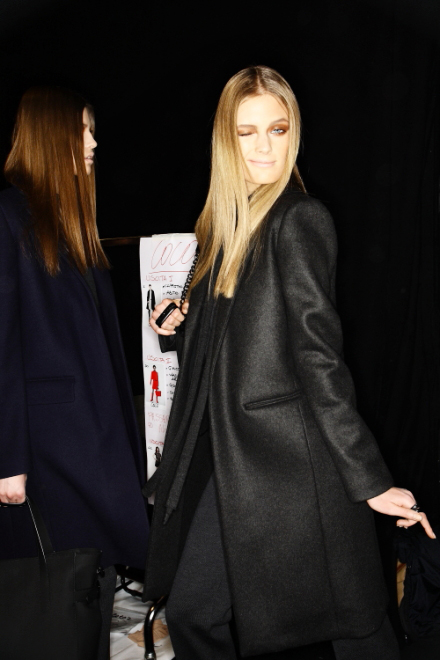 Blumarine FW 11 Collection Show Milan Backstage