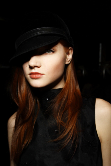 Emporio Armani FW 2011 Collection show Milan Backstage
