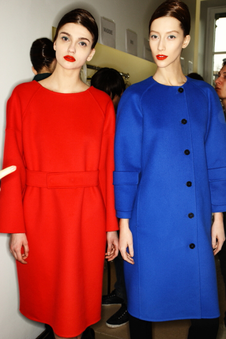 Jil Sander FW 2011 Collection Show Backstage