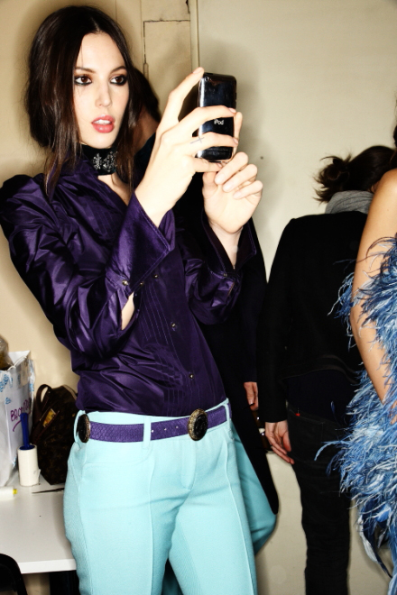 Emilio Pucci FW 2011 Collection Show Milan Backstage