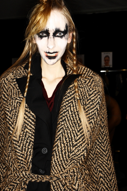 Vivienne Westwood Gold Label FW11 Collection Paris Backstage