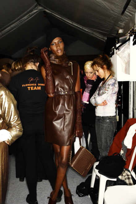 Lanvin FW11 Collection Paris Backstage