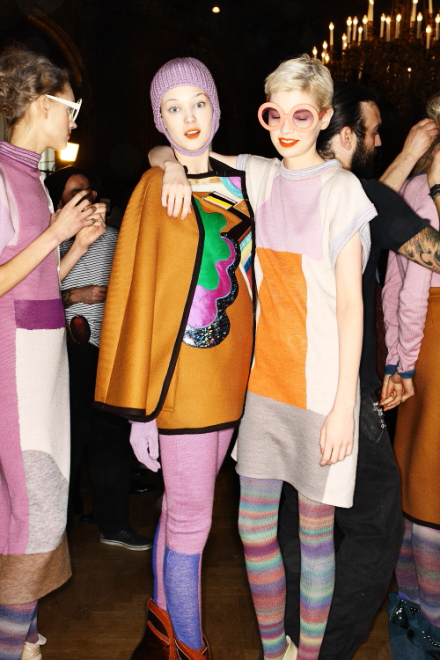 Tsumori Chisato FW11 Collection Paris Backstage