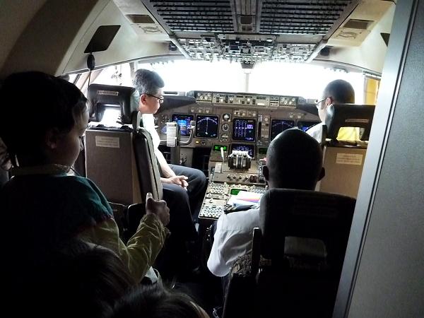 Cockpit !