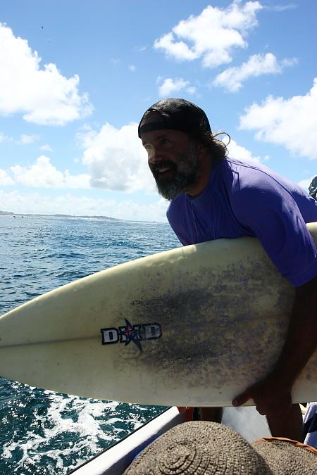 Sonny's surf time