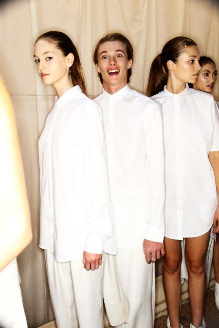 Fernando Frisoni SS11-12 Fashion Show Sydney Backstage